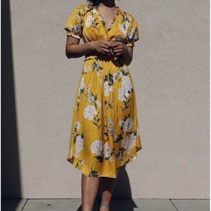 Current Air Floral Midi Dress